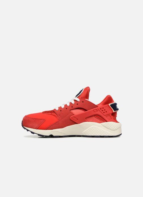 Sneakers Nike Nike Air Huarache Run Prm Röd bild från framsidan