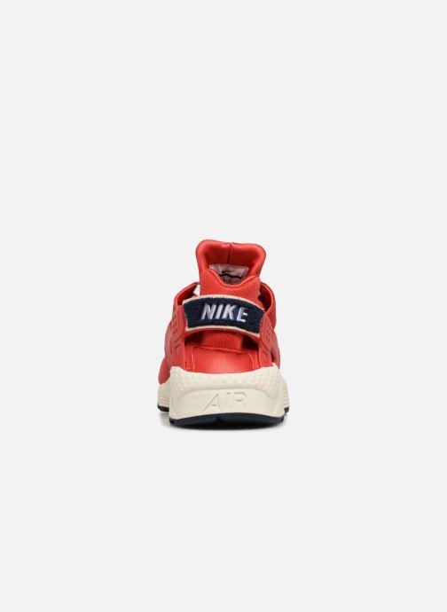 Sneakers Nike Nike Air Huarache Run Prm Röd Bild från höger sidan