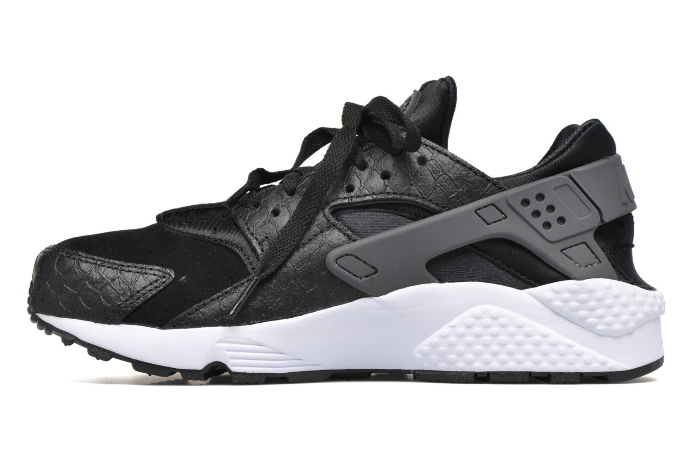 Baskets Nike Nike Air Huarache Run Prm Noir vue face