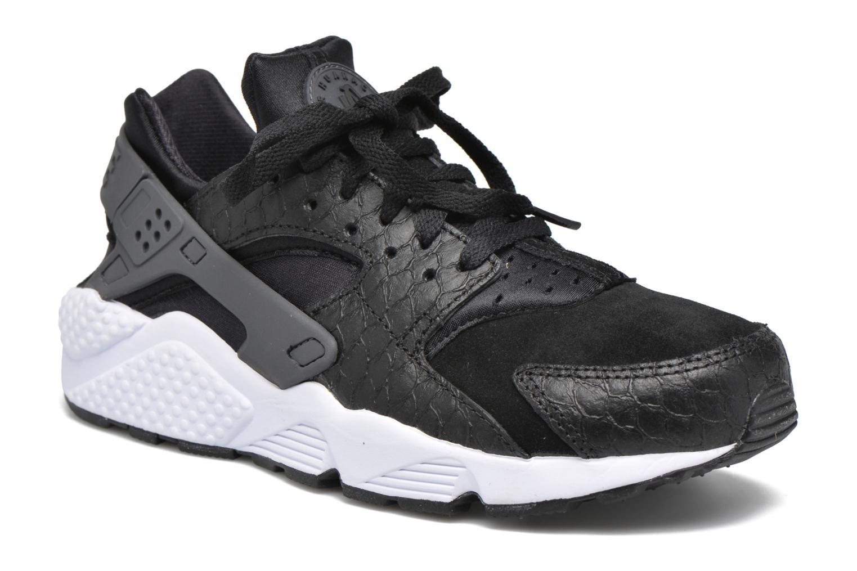 Baskets Nike Nike Air Huarache Run Prm Noir vue détail/paire