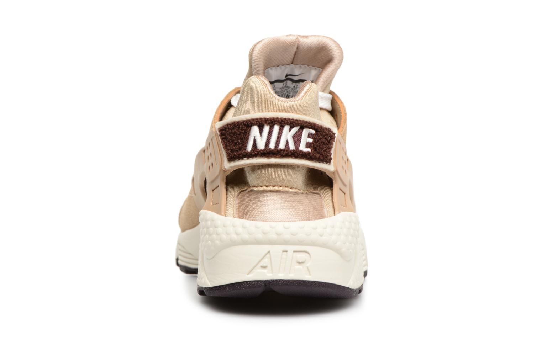 Baskets Nike Nike Air Huarache Run Prm Marron vue droite