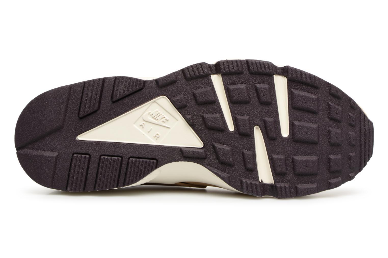 Baskets Nike Nike Air Huarache Run Prm Marron vue haut