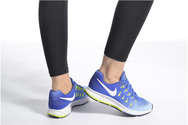 Chaussures de sport Nike Wmns Nike Air Zoom Pegasus 33 Bleu vue bas / vue portée sac