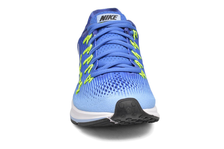 Chaussures de sport Nike Wmns Nike Air Zoom Pegasus 33 Bleu vue portées chaussures