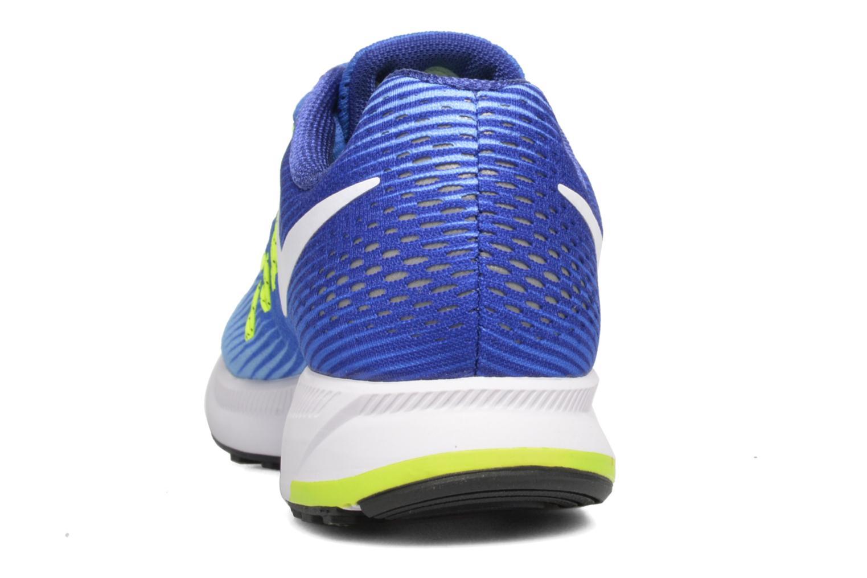 Chaussures de sport Nike Wmns Nike Air Zoom Pegasus 33 Bleu vue droite