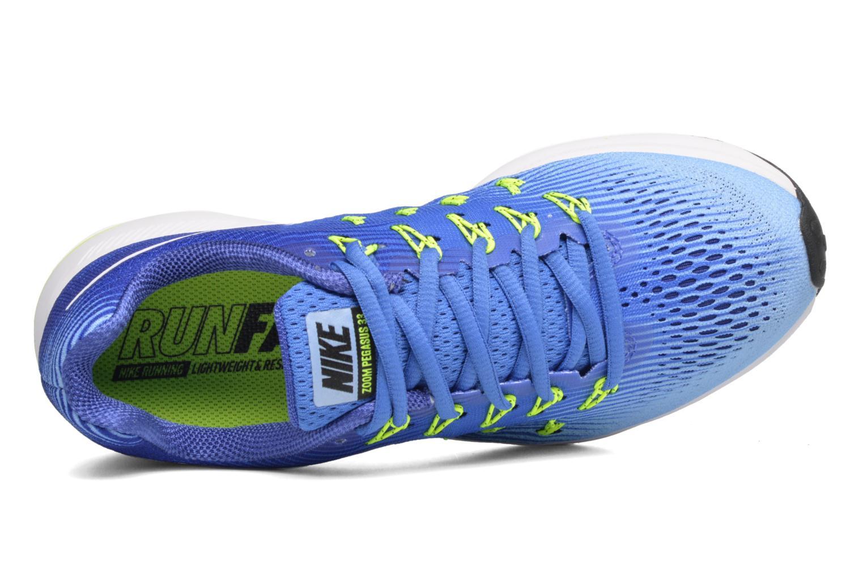 Chaussures de sport Nike Wmns Nike Air Zoom Pegasus 33 Bleu vue gauche