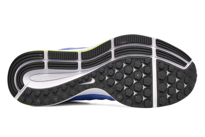 Chaussures de sport Nike Wmns Nike Air Zoom Pegasus 33 Bleu vue haut