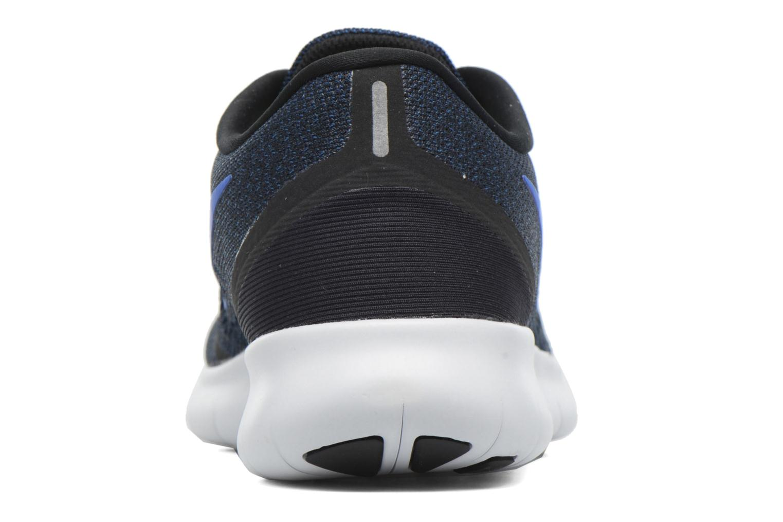 Chaussures de sport Nike Nike Free Rn Bleu vue droite
