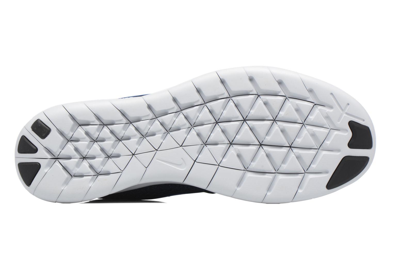 Chaussures de sport Nike Nike Free Rn Bleu vue haut