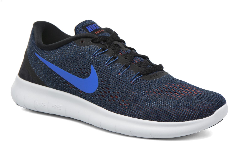 Chaussures de sport Nike Nike Free Rn Bleu vue détail/paire