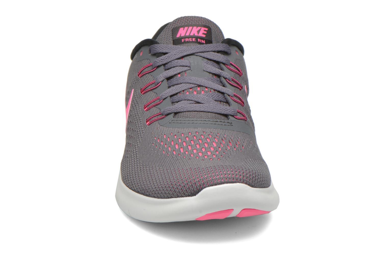 Chaussures de sport Nike Wmns Nike Free Rn Gris vue portées chaussures