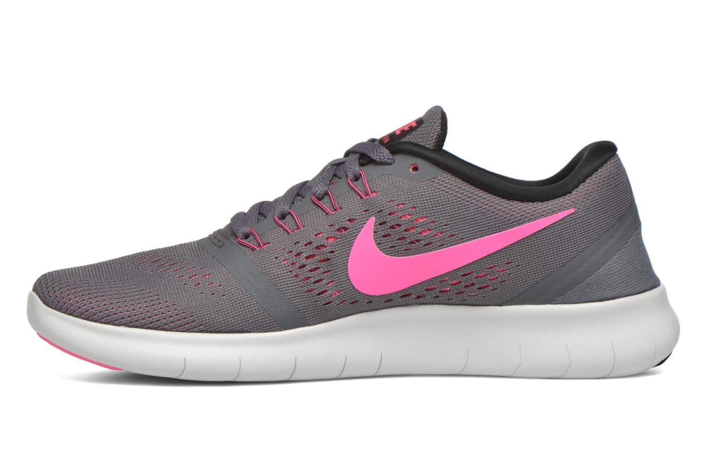 Chaussures de sport Nike Wmns Nike Free Rn Gris vue face