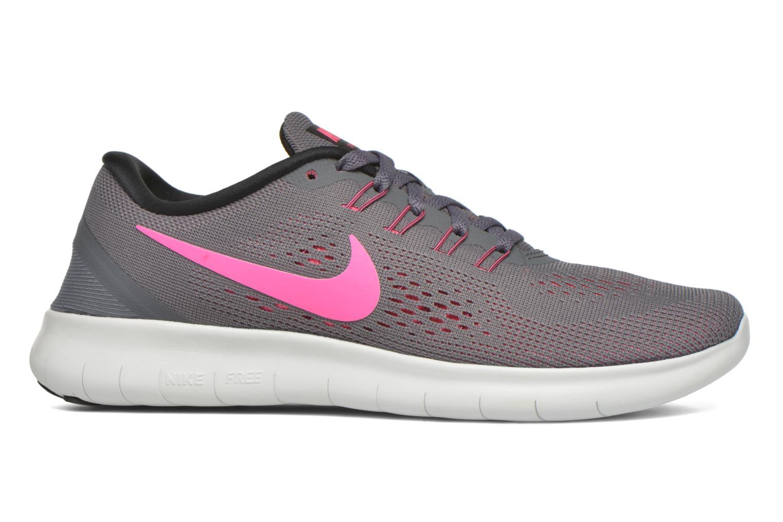 Chaussures de sport Nike Wmns Nike Free Rn Gris vue derrière
