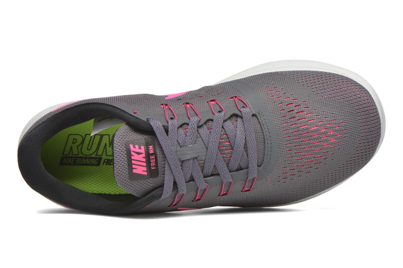 Chaussures de sport Nike Wmns Nike Free Rn Gris vue gauche