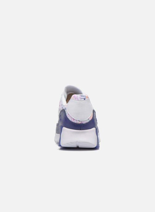 Baskets Nike W Air Max 90 Ultra Print Blanc vue droite
