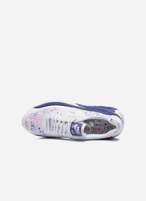 Baskets Nike W Air Max 90 Ultra Print Blanc vue gauche