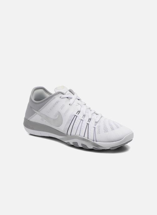 3e6fddcc60544 Nike Wmns Nike Free Tr 6 (White) - Sport shoes chez Sarenza (258889)