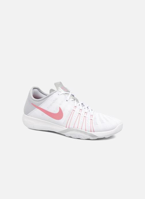huge selection of 08eb3 4de03 Chaussures de sport Nike Wmns Nike Free Tr 6 Blanc vue détail paire
