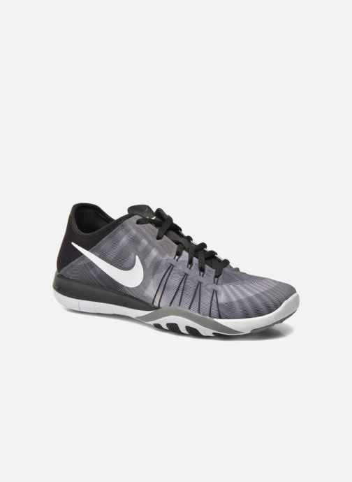 Chaussures de sport Nike Wmns Nike Free Tr 6 Prt Gris vue détail/paire