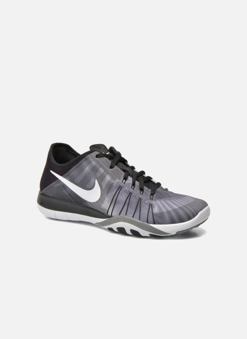 Zapatillas de deporte Nike Wmns Nike Free Tr 6 Prt Gris vista de detalle / par