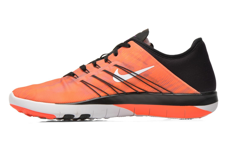 Chaussures de sport Nike Wmns Nike Free Tr 6 Prt Orange vue face
