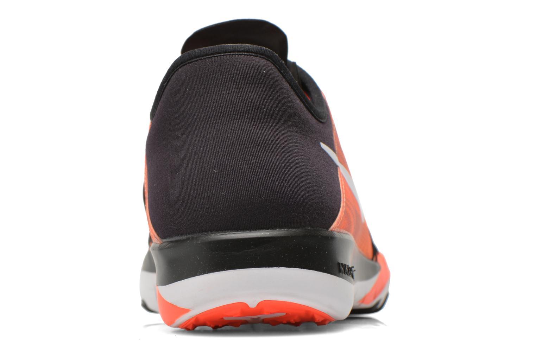 Chaussures de sport Nike Wmns Nike Free Tr 6 Prt Orange vue droite