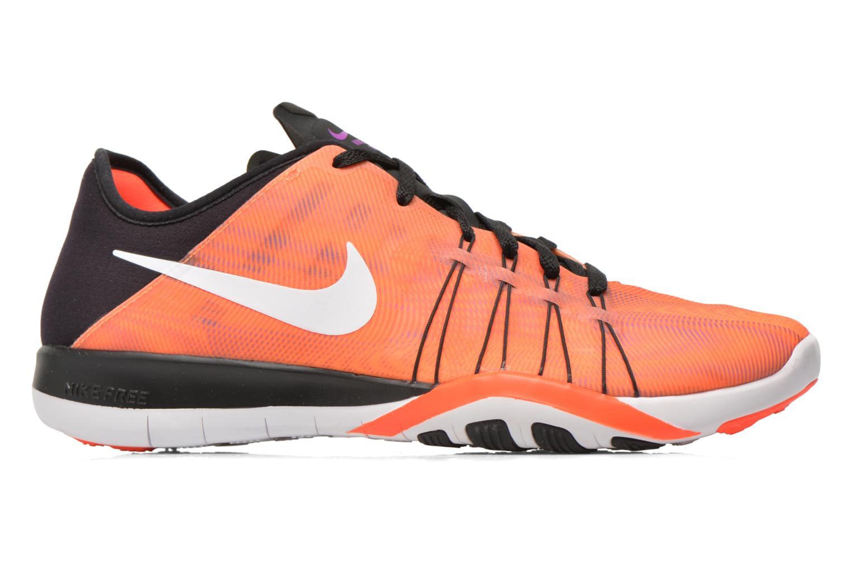 Chaussures de sport Nike Wmns Nike Free Tr 6 Prt Orange vue derrière