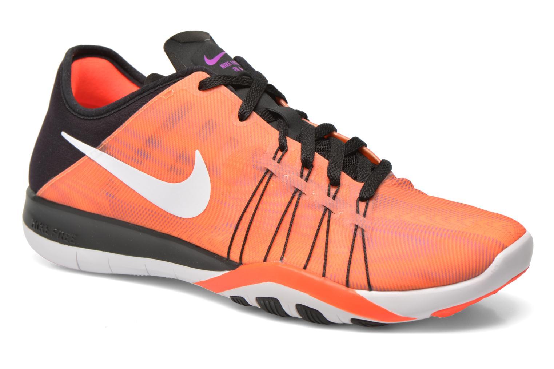 Chaussures de sport Nike Wmns Nike Free Tr 6 Prt Orange vue détail/paire
