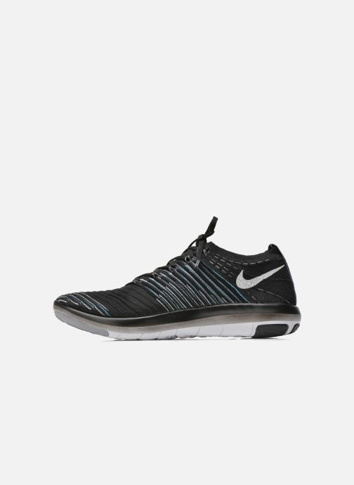 Sport shoes Nike Wm Nike Free Transform Flyknit Black front view