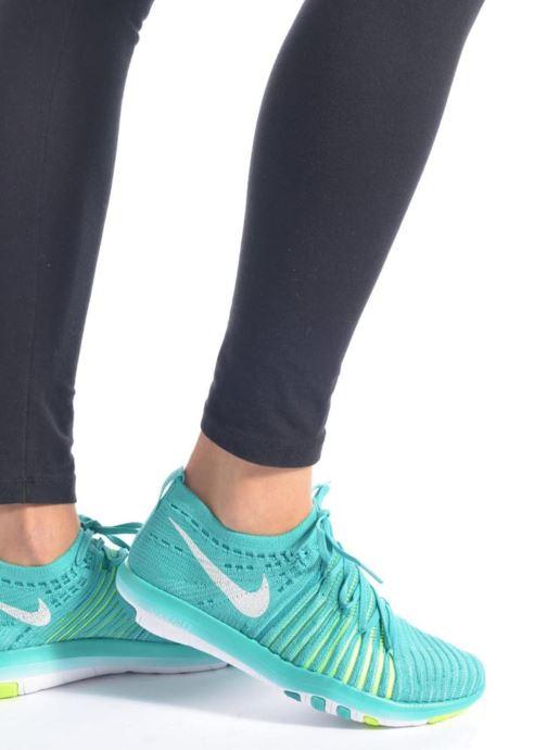 Scarpe sportive Nike Wm Nike Free Transform Flyknit Nero immagine dal basso
