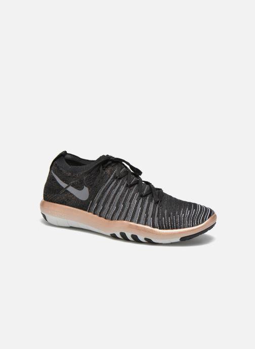 san francisco b1837 d3180 Sport shoes Nike Wm Nike Free Transform Flyknit Black detailed view  Pair  view