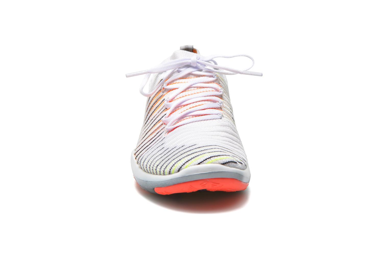 Chaussures de sport Nike Wm Nike Free Transform Flyknit Blanc vue portées chaussures
