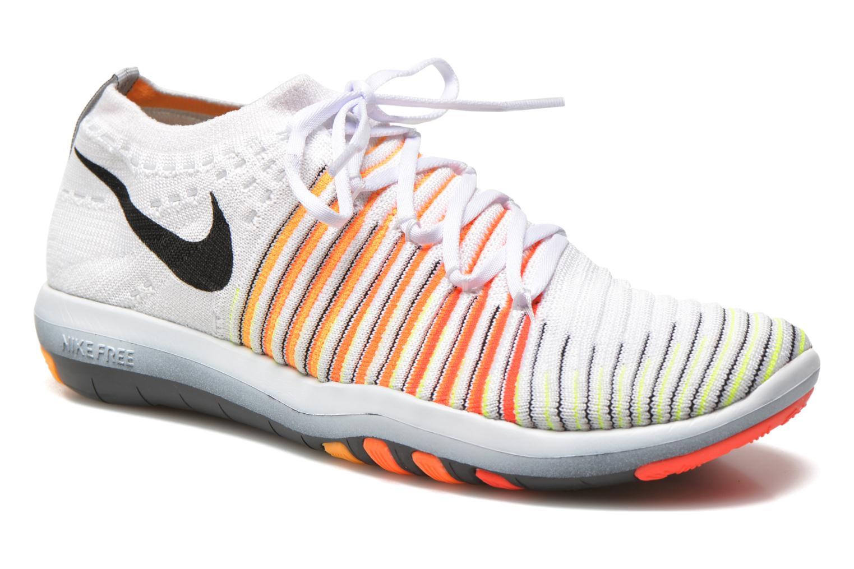 Chaussures de sport Nike Wm Nike Free Transform Flyknit Blanc vue détail/paire