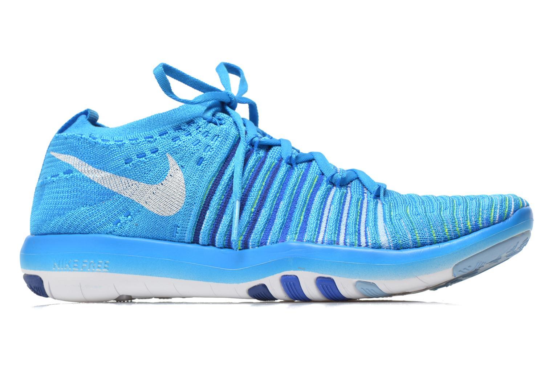 Chaussures de sport Nike Wm Nike Free Transform Flyknit Bleu vue derrière