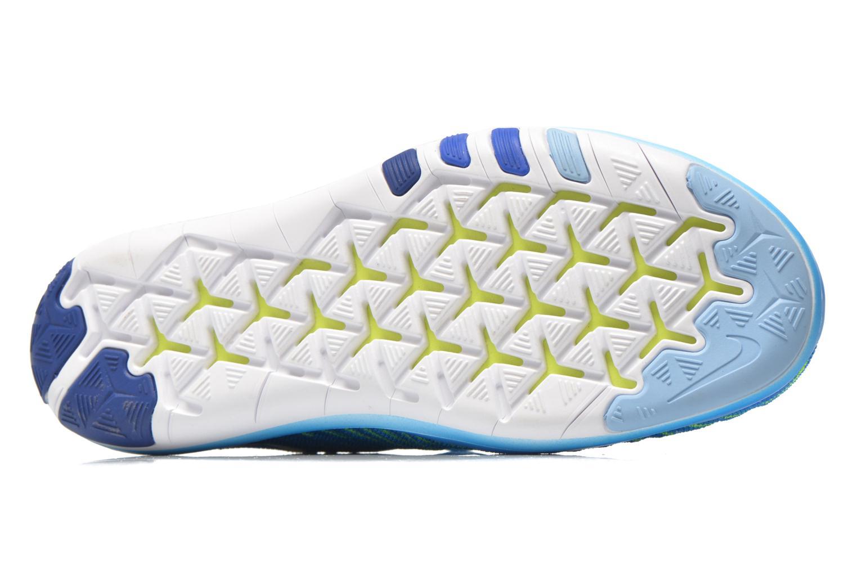 Chaussures de sport Nike Wm Nike Free Transform Flyknit Bleu vue haut