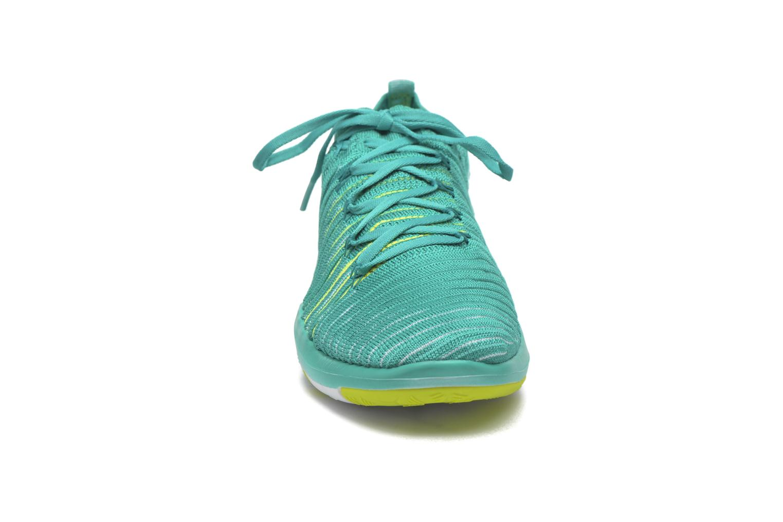 Chaussures de sport Nike Wm Nike Free Transform Flyknit Vert vue portées chaussures