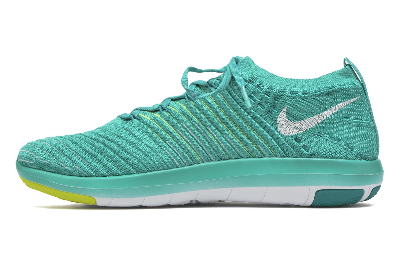 Chaussures de sport Nike Wm Nike Free Transform Flyknit Vert vue face