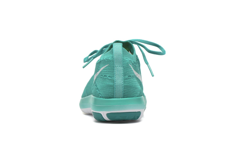 Chaussures de sport Nike Wm Nike Free Transform Flyknit Vert vue droite