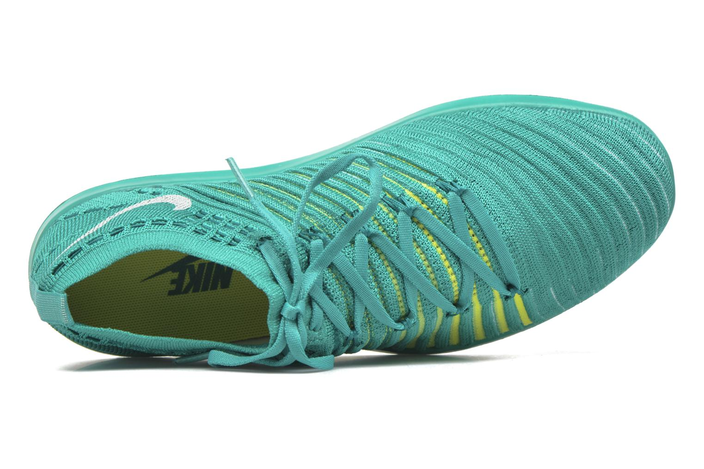 Chaussures de sport Nike Wm Nike Free Transform Flyknit Vert vue gauche