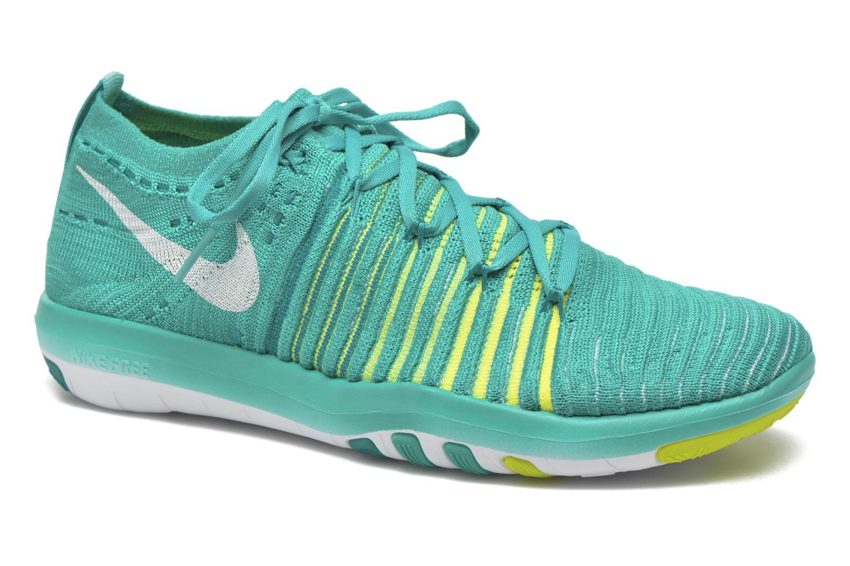 Chaussures de sport Nike Wm Nike Free Transform Flyknit Vert vue détail/paire