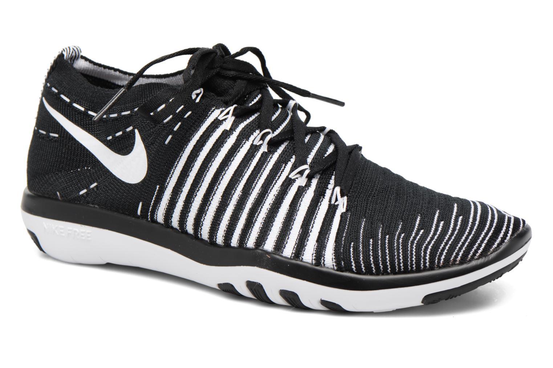 Chaussures de sport Nike Wm Nike Free Transform Flyknit Noir vue détail/paire