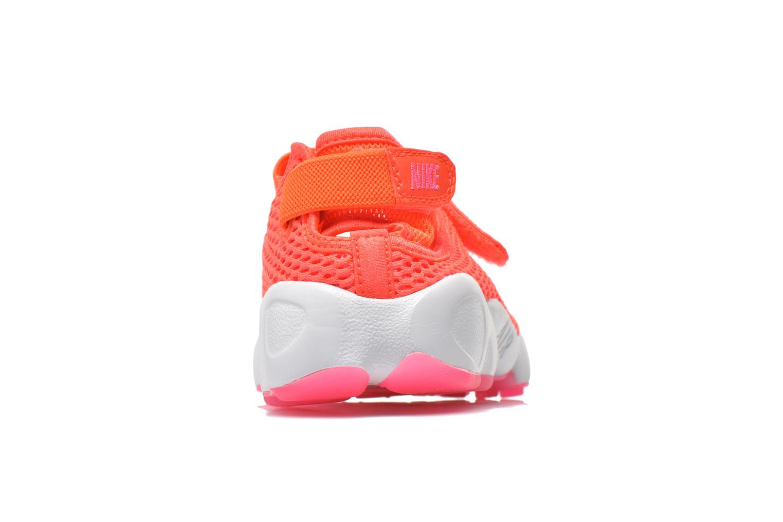 Baskets Nike Wmns Nike Air Rift Br Orange vue droite