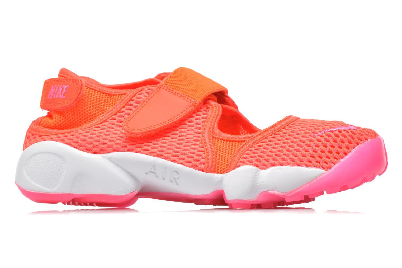 Baskets Nike Wmns Nike Air Rift Br Orange vue derrière