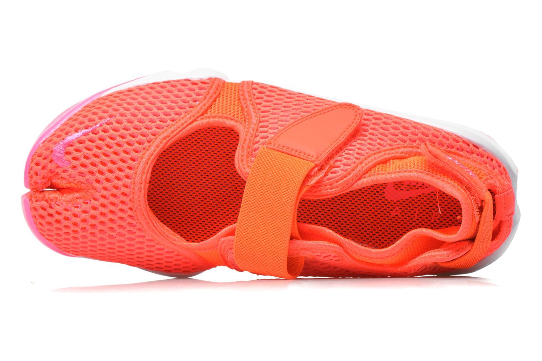 Baskets Nike Wmns Nike Air Rift Br Orange vue gauche