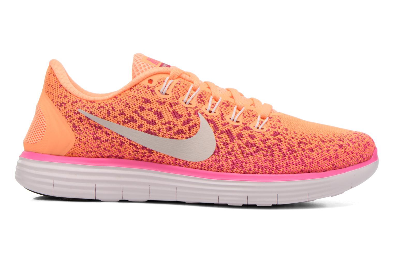 Chaussures de sport Nike Wmns Nike Free Rn Distance Orange vue derrière