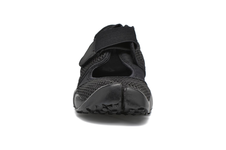 Chaussures de sport Nike Nike Air Rift Br Noir vue portées chaussures