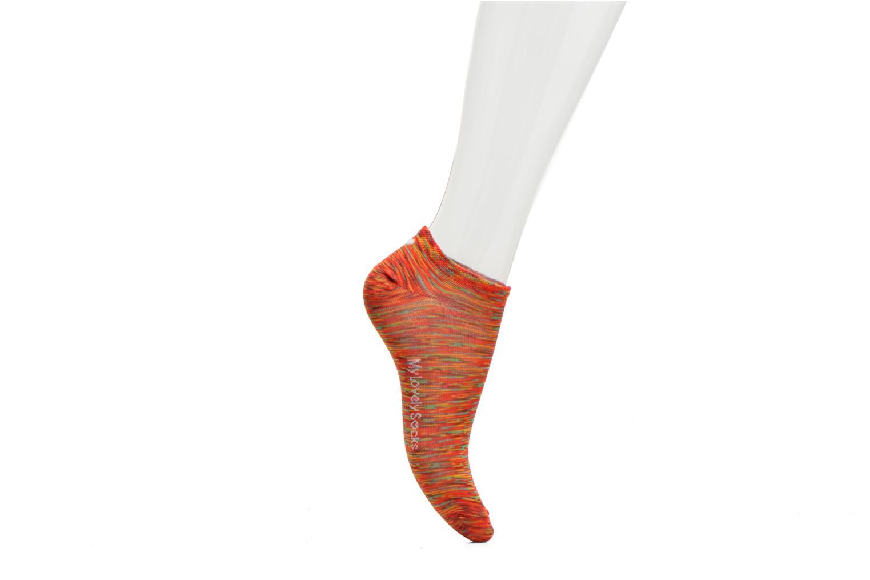 Chaussettes et collants My Lovely Socks Chaussettes Mixte Claire Rouge vue face