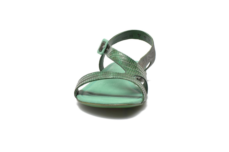 Sandales et nu-pieds Free Lance Tylia Sanda Line Vert vue portées chaussures