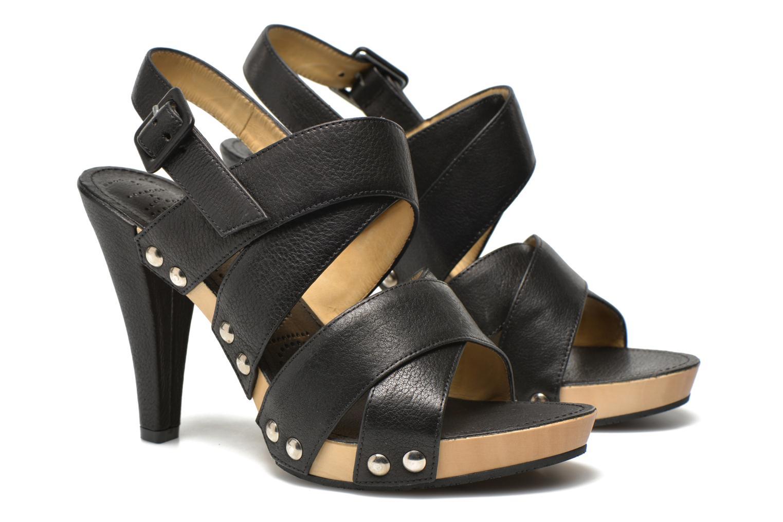 Sandales et nu-pieds Free Lance Farah 7 Sandal Noir vue 3/4