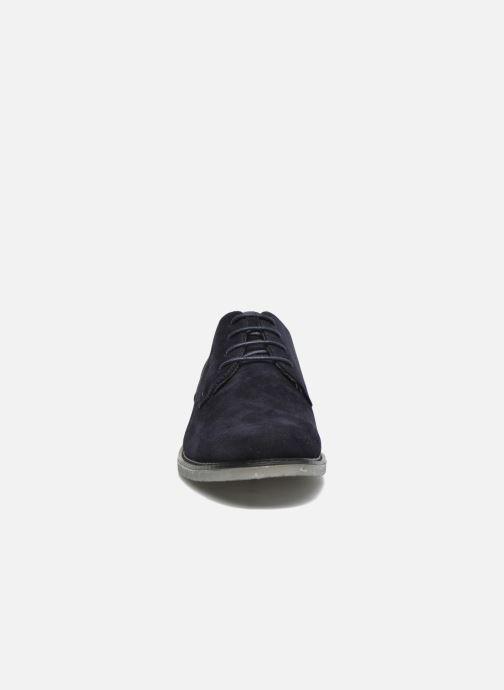Scarpe con lacci I Love Shoes SUPERBES Azzurro modello indossato